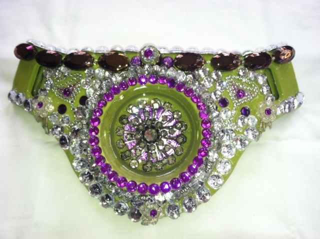 Lucky Lindy Martini Fighting Belt