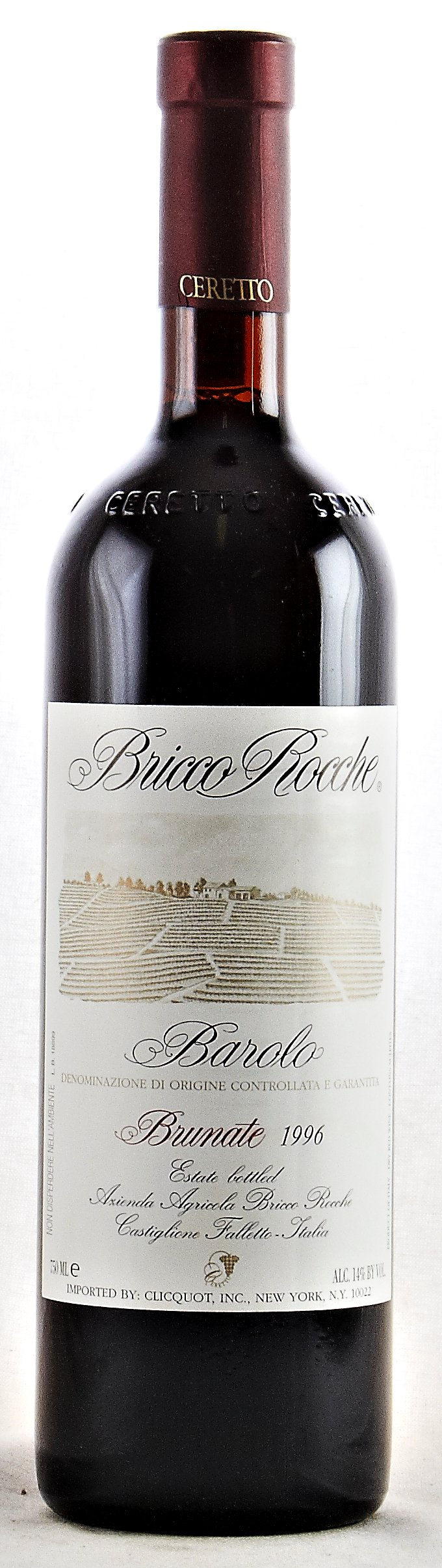 Barolo Brunate 2005 Bricco Rocche Barolo Brunate