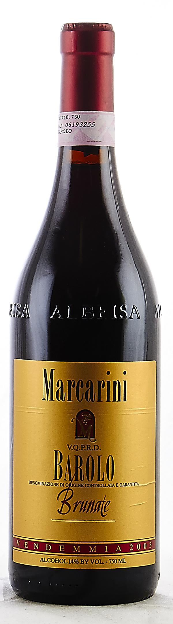 Barolo Brunate Marcarini 2003 Marcarini Barolo Brunate