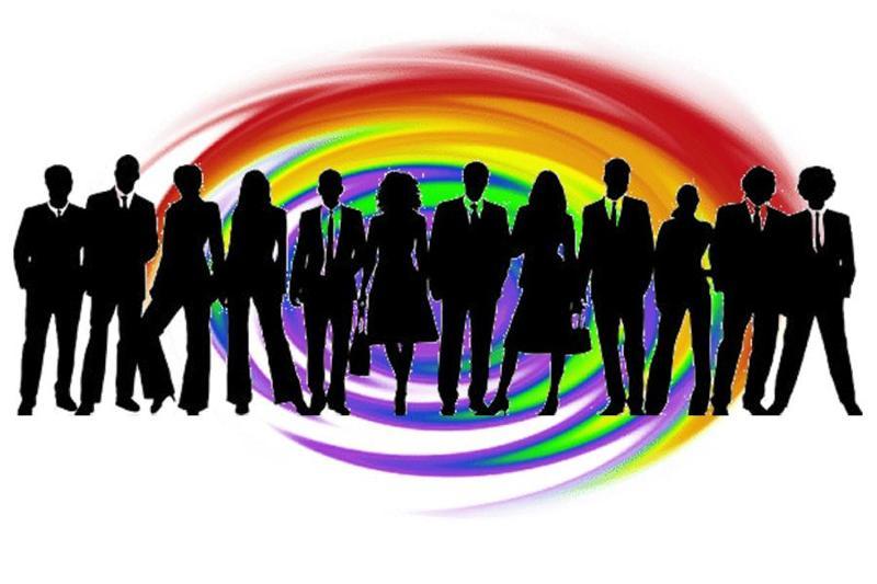 Rainbow Swirl Biz