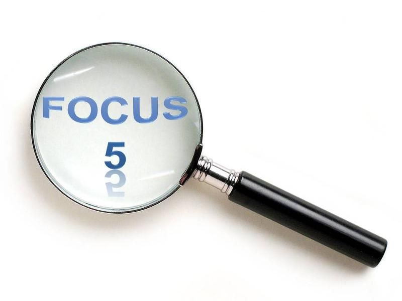 Focus on 5