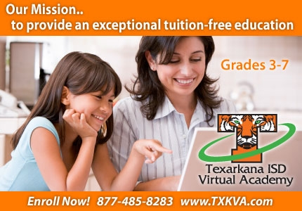 Tuition Free Virtual Academy Through Texarkana ISD
