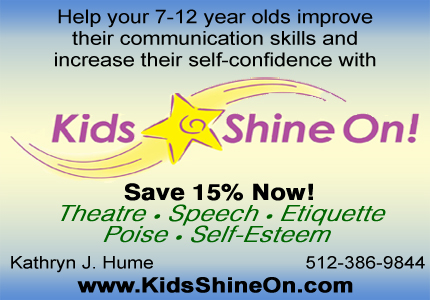 Help your 7-12 year olds improve their communication skills and increase self-confidence!