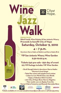 Sierra Madre Jazz Wine Walk