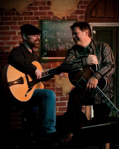 Duo at Java Joes