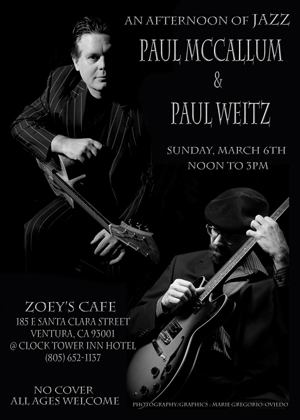 Jazz Duo at Zoey's