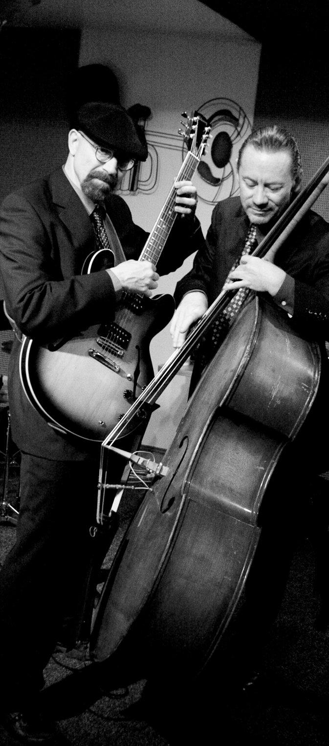 Andy and Paul Narrow B&W