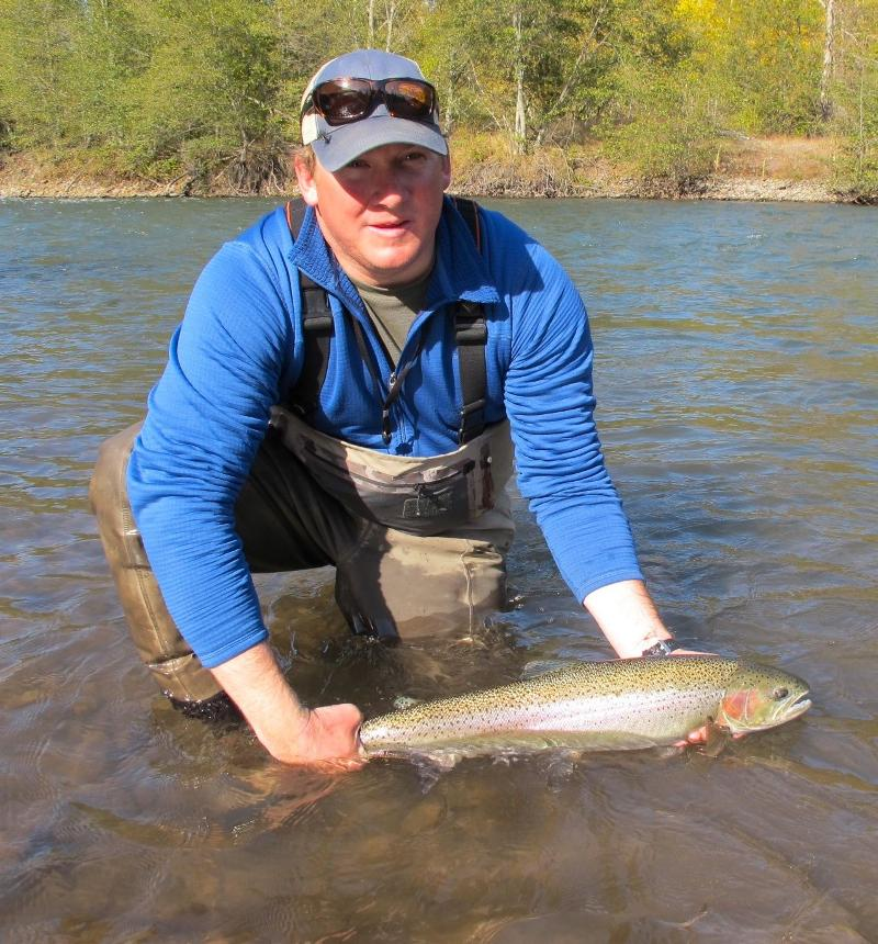 Klickitat steelhead fishing report for Klickitat river fishing report