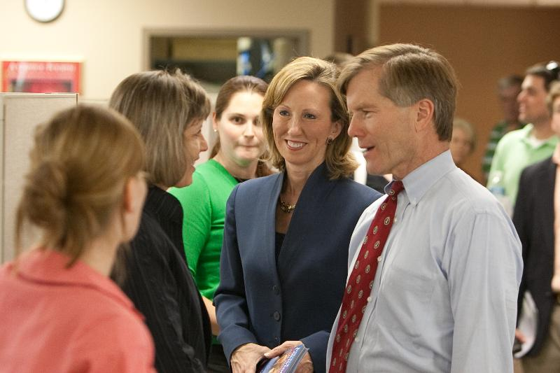 Barbara Comstock with Governor McDonnell