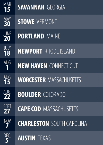 2015 Event Schedule