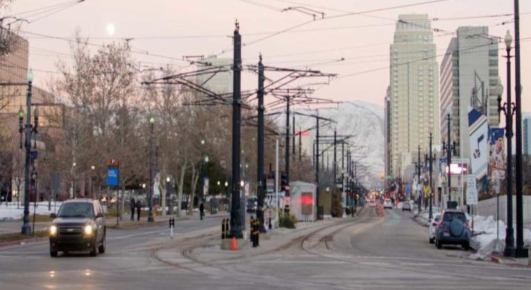 Utah street scene