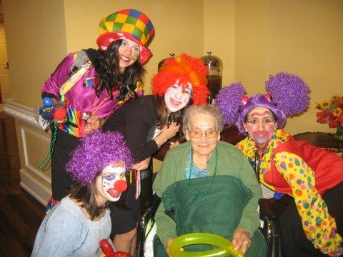 Mitzvah Clowning