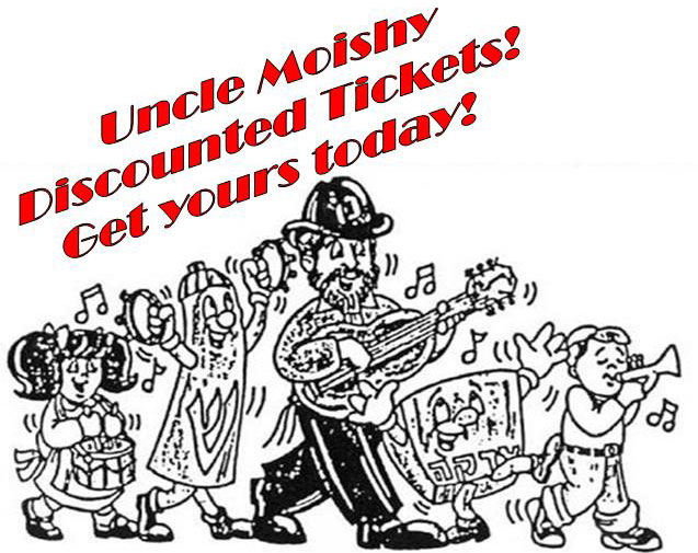 Uncle Moishy - Discounted Tickets