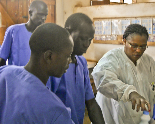 Education and Integration Helping Technicians Improve TB Services in South Sudan