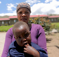 Communities Mobilize to Provide Care to Orphans and Vulnerable Children in Lesotho