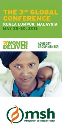 MSH at Women Deliver 2013