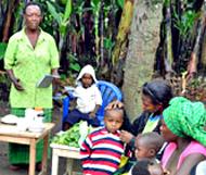 Ugandan Women Trained with Nutrition Program Revitalizing Sembabule's Malnourished