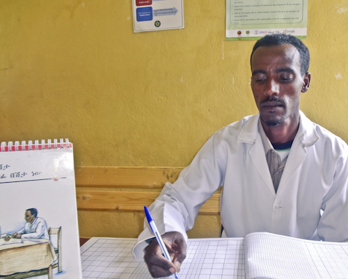 Advancing TB Detection and Care through Staff Training and Mentorship in South Wollo, Ethiopia