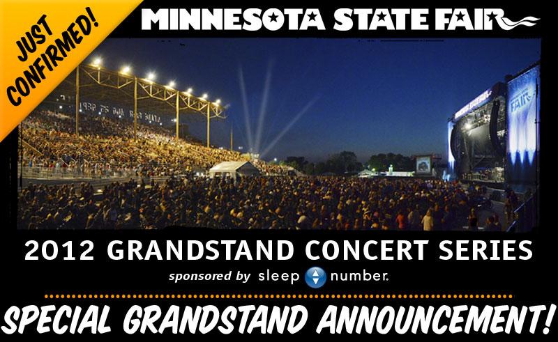 Minnesota State Fair 2012 Lineup Announced & Tickets Info