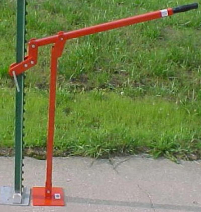 Silt Fence Stake Puller