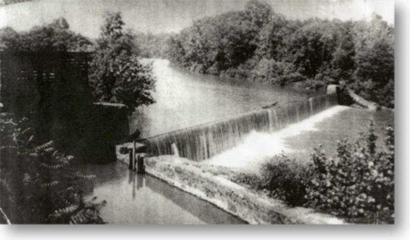 Nora Mills Dam 1824