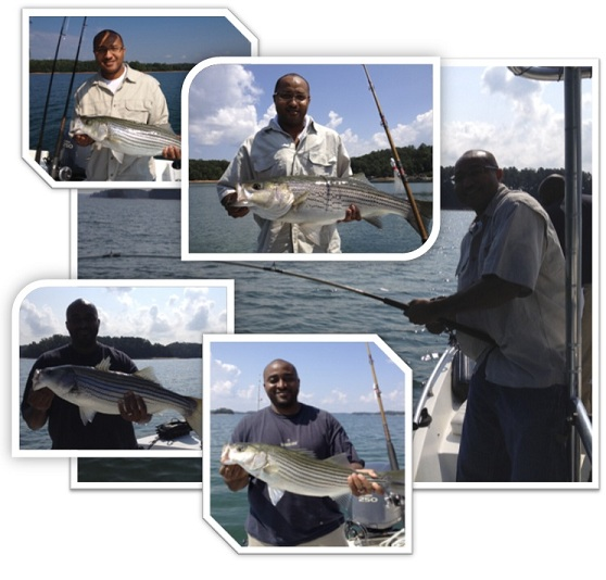 Kaaba Striper Trip Aug 2012