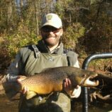 BROWN TROUT - Chattahoochee River 2012