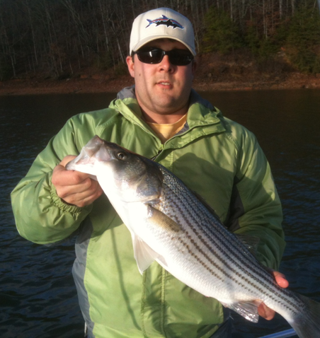 Striper Trip Winner-4th qrt 2012