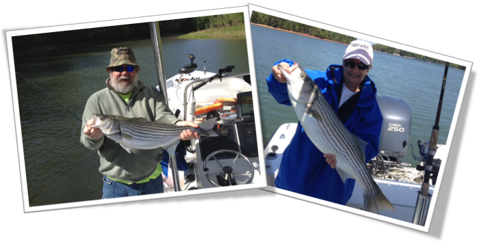 Clements Fishing Day on Lanier