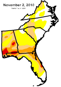 Drought Map 11-2-10