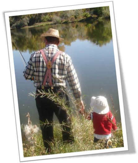 Fishing w Grandpa
