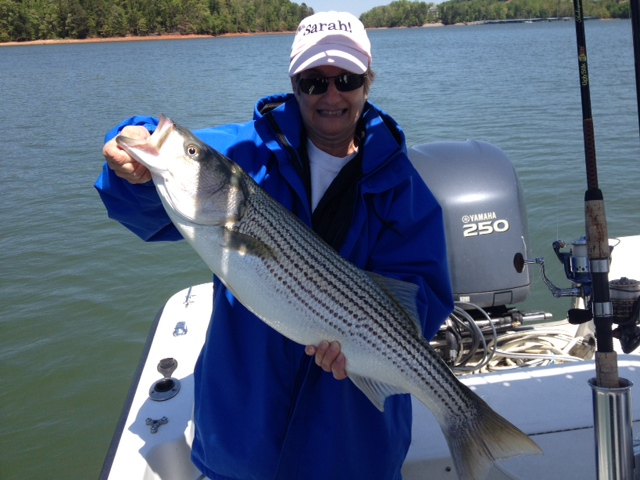 Free striper fishing with family!