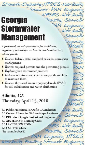 Georgia Stormwater Management