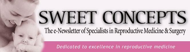 Sweet Concepts e-Newsletter Header