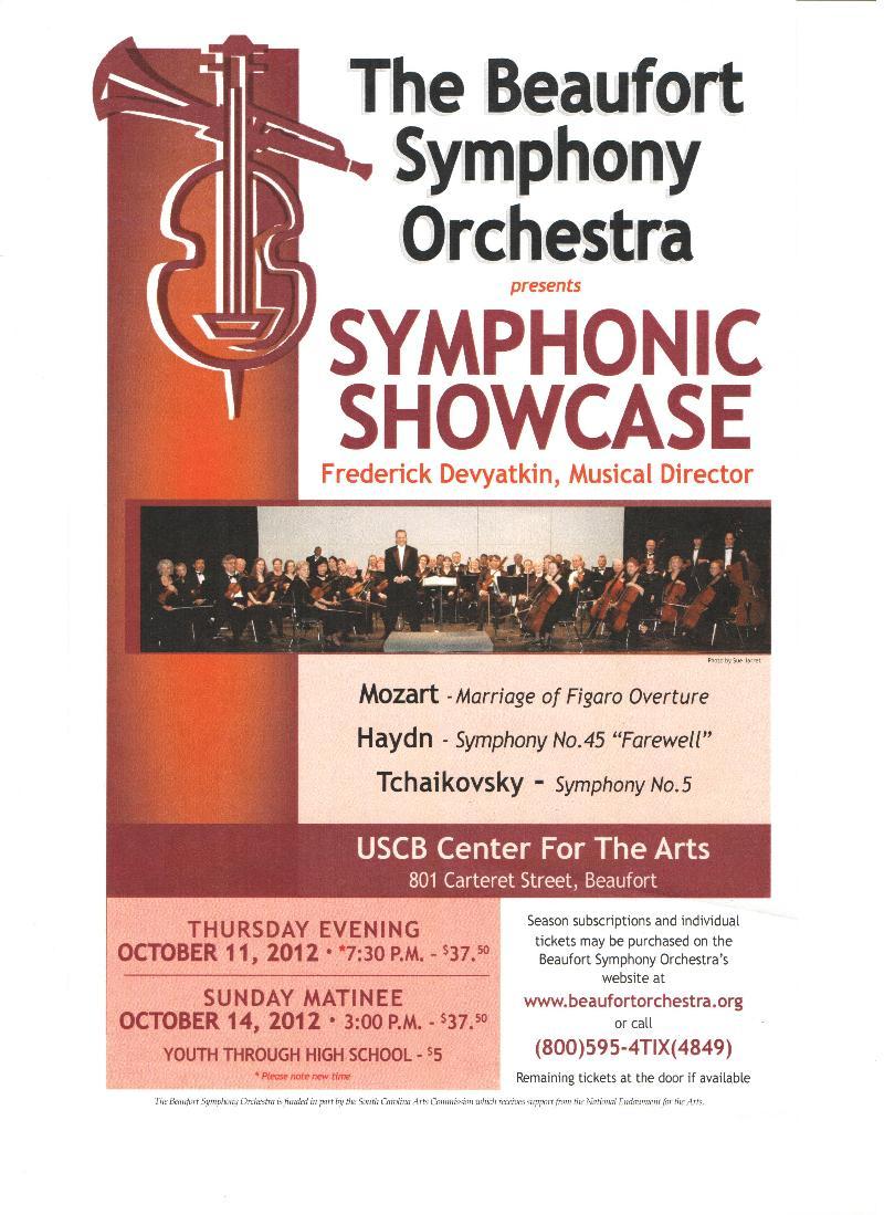Symphony Flyer
