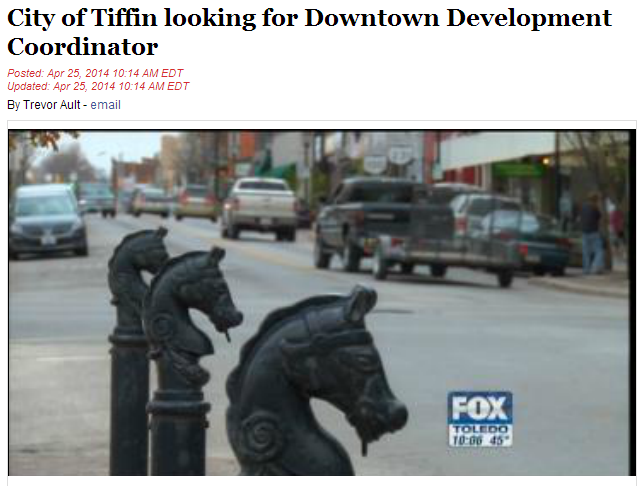 WTOL Tiffin Downtown Story