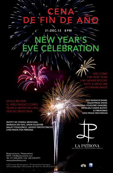 La Patrona New Year's Eve