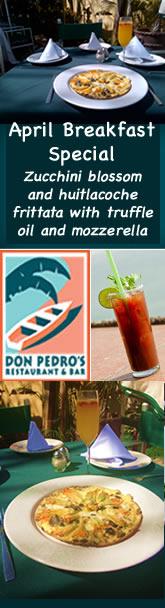Don Pedro's Breakfast Banner