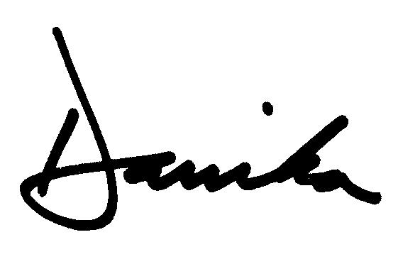 Danika signature