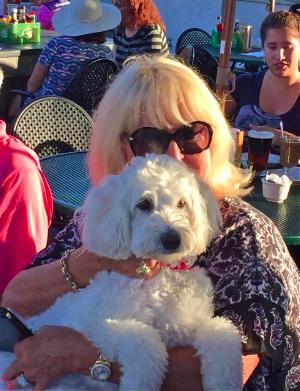 Winsty (formerly Nado) with mom, Marilyn