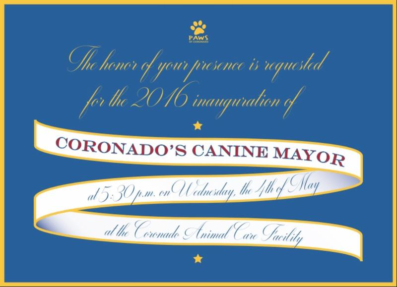 Canine Inaugural Invitation 2016