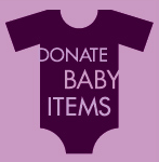 Donate Baby Items