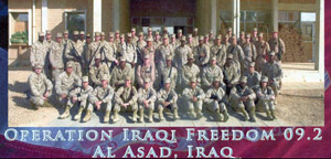 Marines and Sailors in Al Asad, Iraq