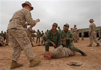 Marines in Morocco