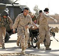 Marines in Trauma Unit Iraq