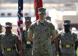 Marine Awarded Highest Navy Honor