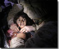 Navy Corpsmen Save Injured Afghan Girl