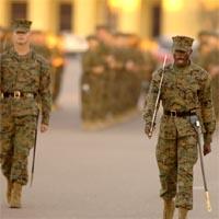 Parade Deck MCRD San Diego Marine Corps Recruit Depot