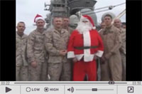 'Twas the Night Before Christmas: Marines Perform a Special Reading