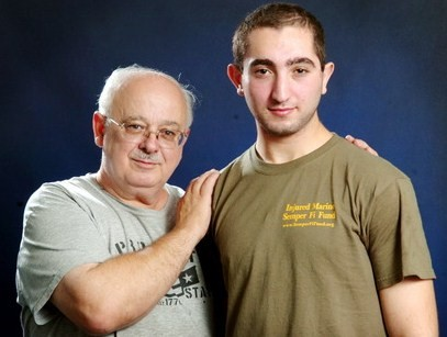 Joey and his Dad Bob